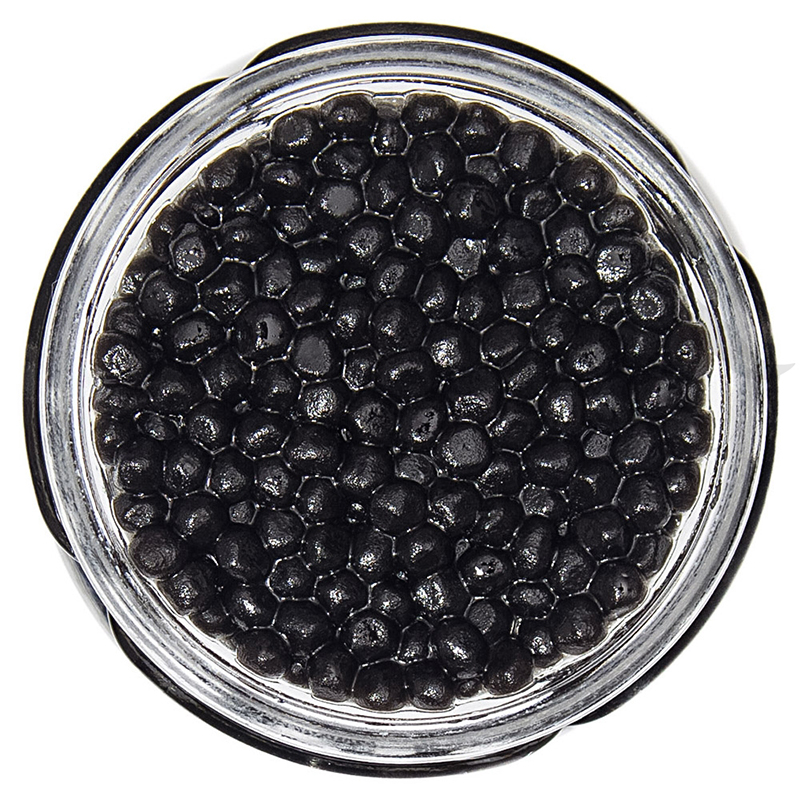 black truffle pearls